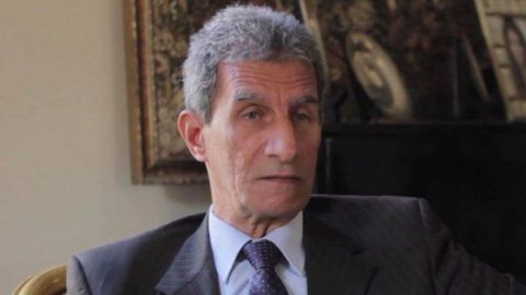Maasoum Marzouk was detained by Egyptian authorities on Thursday.