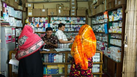 Women who want to get an abortion buy pills in pharmacies like this one.
