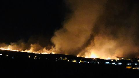 A brush fire near Lahaina's Kauaula Valley in Maui has forced evacuations.