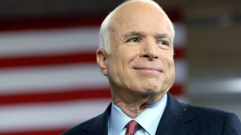 """<a href=""""https://www.cnn.com/2018/08/25/politics/john-mccain-obituary/index.html"""" target=""""_blank"""">John McCain</a>, a Vietnam War hero who served in the US Senate for more than 30 years and ran for president twice, died August 25 at the age of 81. McCain, a conservative maverick, won the Republican nomination in 2008 but lost to Barack Obama. He continued to serve in Congress after being diagnosed with brain cancer last year."""