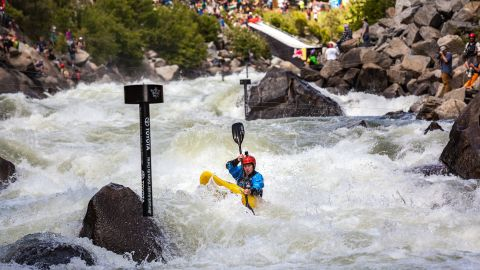 Idaho's legendary class V rapids are home to one of the most thrilling and dangerous pro kayak races in the world, the North Fork Championship.