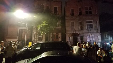 The fire commissioner said there were no smoke detectors found in the home.