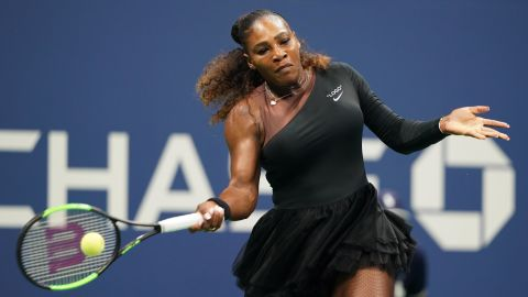 Serena Williams has taken tennis fashion to new heights. In New York she wore a $500 black-and-brown one-shoulder silhouette dress with tulle skirt for her 2018 US Open debut.