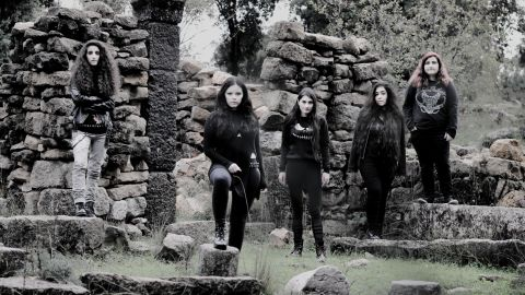 Slave To Sirens, one of the few all-girl metal bands in the Middle East, was formed in 2016 in Lebanon.
