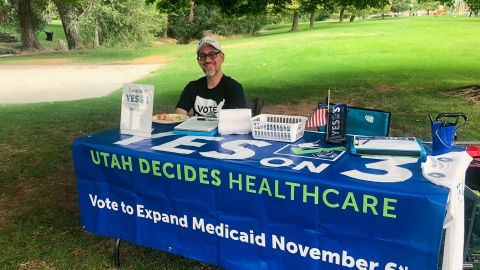 Utah residents will decide whether to expand Medicaid in November.