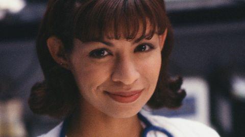 "Vanessa Marquez as Nurse Wendy Goldman on ""ER."""
