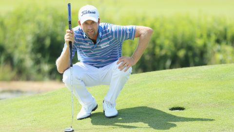 <strong>Webb Simpson</strong>, the 2012 US Open champion, secured the eighth and final automatic spot after a strong season which yielded the Players title for his first PGA Tour win since 2013. The 33-year-old played in the 2012 and 2014 US Ryder Cup defeats.