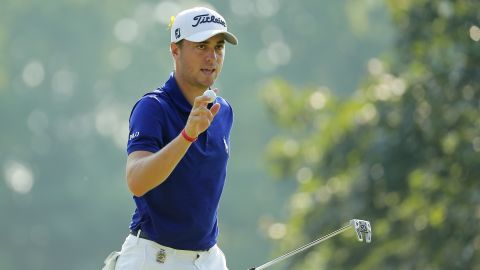 World No. 3<strong> Justin Thomas</strong>, 25, finished third in the standings to qualify for his debut Ryder Cup. The 2017 US PGA champion also clinched the WGC-Bridgestone Invitational this term to cement his place in the side.