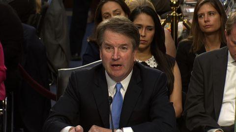 Brett Kavanaugh at his hearing on 09/06.