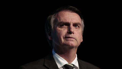 Bolsonaro is a candidate for the Social Liberal Party