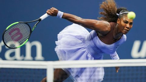 Williams is through to her second grand slam final of the year