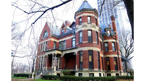 The residence of the Roman Catholic Archdiocese Of Chicago, located on the city's Gold Coast.