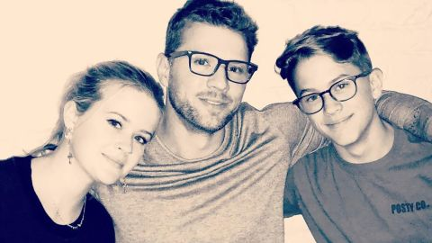 Ryan Phillippe's children, daughter Ava and son Deacon, are look-alikes of him and his ex-wife, Reese Witherspoon.