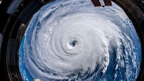 FROM EUROPEAN SPACE AGENCY ASTRONAUT ALEXANDER GERST: Watch out, America! #HurricaneFlorence is so enormous, we could only capture her with a super wide-angle lens from the @Space_Station, 400 km directly above the eye. Get prepared on the East Coast, this is a no-kidding nightmare coming for you. #Horizons CLEARED: All platforms/affils COURTESY: Alexander Gerst/ESA PHOTOS: https://twitter.com/Astro_Alex/status/1039870760343543814