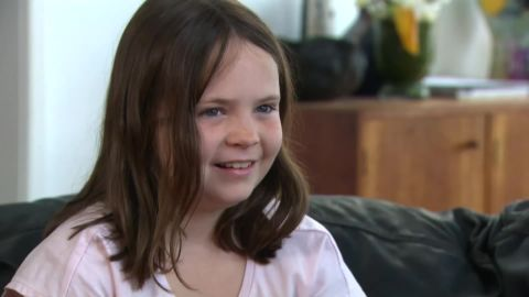 Nine-year-old Harper Nielsen refused to stand during the Australian national anthem to protest rights for the Indigenous population.