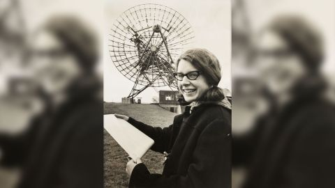 Jocelyn Bell at the Mullard Radio Astronomy Observatory at Cambridge University, taken for the Daily Herald newspaper in 1968.