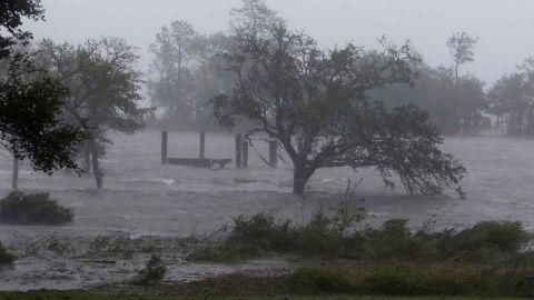 Swansboro, North Carolina, was walloped by Hurricane Florence on Friday.