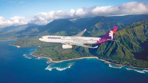A flight from Hawaii to New York was diverted when an attendant died on board.