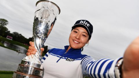 South Korean golfer In-gee Chun made golf history in 2016 when she shot -21 at Evian -- the lowest ever four-day score at a major for men or women.