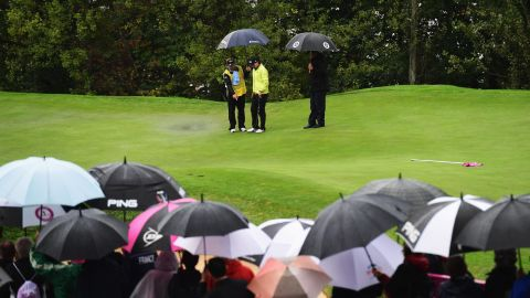 """It's not always blue skies and dreamy views, however -- bad weather has on occasion thwarted players at Evian. The 2019 edition has been moved from September to July, setting up a summertime """"Europe Swing"""" on the women's tour along with the Ladies Scottish Open and the Women's British Open."""