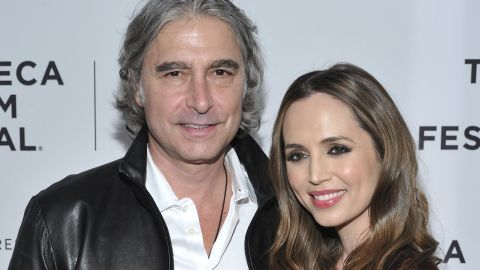 """Actress  Eliza Dushku revealed in September that she had married real estate executive Peter Palandjian in August. The """"Buffy the Vampire Slayer"""" star posted photos from their 8/18/18 wedding on <a href=""""https://www.instagram.com/p/Bny0LB8DhAO/?hl=en"""" target=""""_blank"""" target=""""_blank"""">her official Instagram account. </a>"""
