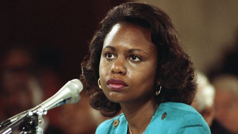 Anita Hill, University of Oklahoma Law Professor, who testified, that she was sexually harassed by Clarence Thomas.