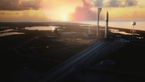 """Musk's vision for BFR also included plans to eventually establish a lunar base, which he dubbed """"Moon Base Alpha."""""""