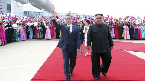 This week's meeting marks the first time in more than a decade that a South Korean president has visited the North.