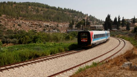 The current route between Tel Aviv and Jerusalem is scenic, but slow for commuters.