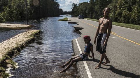 Hundreds of roads remain closed or were damaged during Hurricane Florence.
