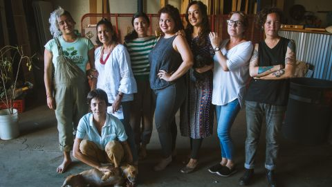 Members of the Resilience Fund stand at the forefront of Puerto Rico's food revolution.