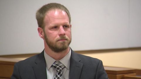 Justin Schneider during a court appearance on Wednesday, September 19.