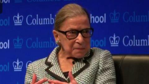 Ruth Bader Ginsburg at Columbia Law School