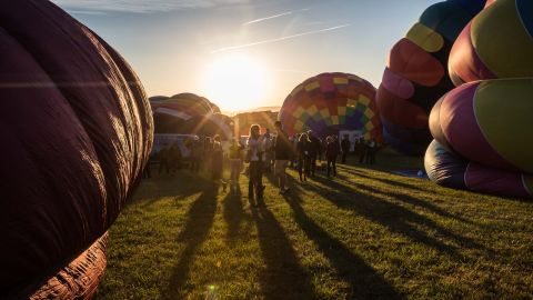 <strong>Reno, Nevada: </strong>The 37th Great Reno Balloon Race took place this year from September 7 to 9. More than 100 hot air balloons took to the sky in this annual event. <br />