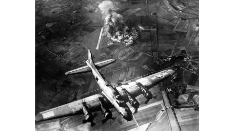 The Allied forces' planes could carry thousands more pounds of bombs.
