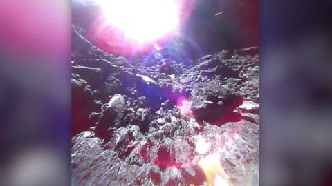 JAXA astroid ryugu images