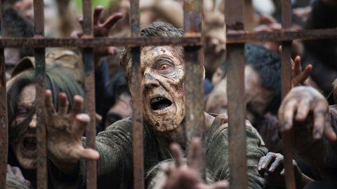 """Zombies in """"The Walking Dead."""""""