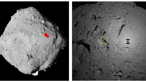 The surface of Ryugu is rockier than scientists had expected.