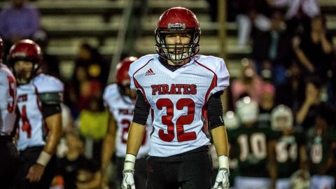 Pike County high school player Dylan Thomas died on Sunday after suffering a hit on the field in a game.