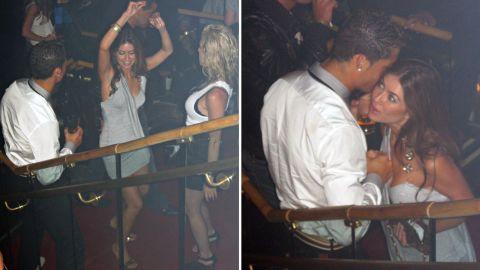 Ronaldo and Kathryn Mayorga met at Las Vegas' Rain nightclub, the lawsuit says.
