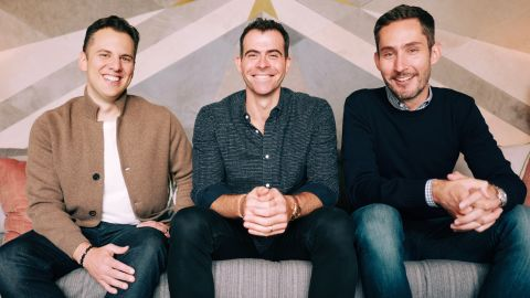 Mike Krieger, Adam Mosseri and Kevin Systrom.