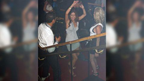 Cristiano Ronaldo pictured with Kathryn Mayorga.
