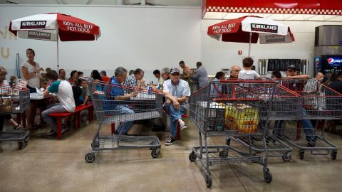 No-frills food courts are one way Costco gets shoppers to re-up on their memberships.