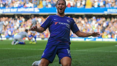 Hazard has enjoyed a stellar season with Chelsea in the Premier League.