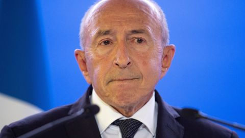 French Interior Minister Gerard Collomb plans to run for mayor in Lyon.