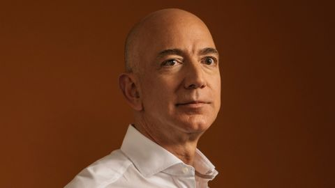 FILE -- Jeff Bezos, the founder of Amazon, in Seattle, Aug. 25, 2017. By all accounts, Bezos has refrained from meddling in the news or the editorial operations of The Washington Post, where the newsroom has grown significantly under his ownership. (Kyle Johnson/The New York Times)