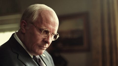 """Christian Bale as Dick Cheney in Adam McKay's """"Vice."""""""