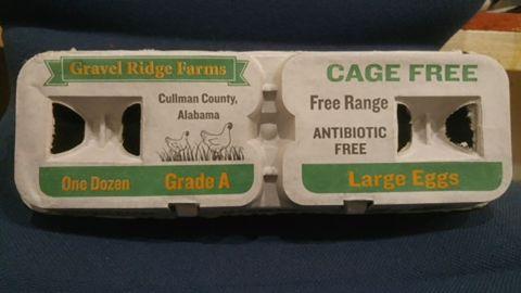 Eggs from Gravel Ridge Farms were recalled in September.