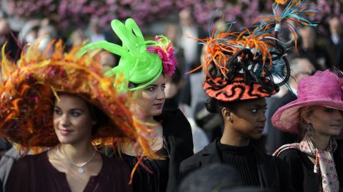 Longchamp racecourse is back with a bang ...