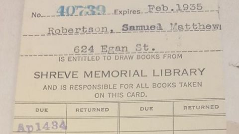 The stamped library card from the book shows the date it was due: April 14, 1934.